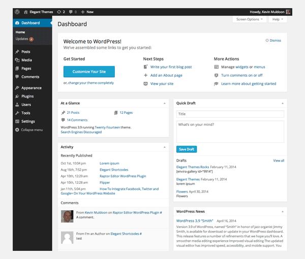 How WordPress works?